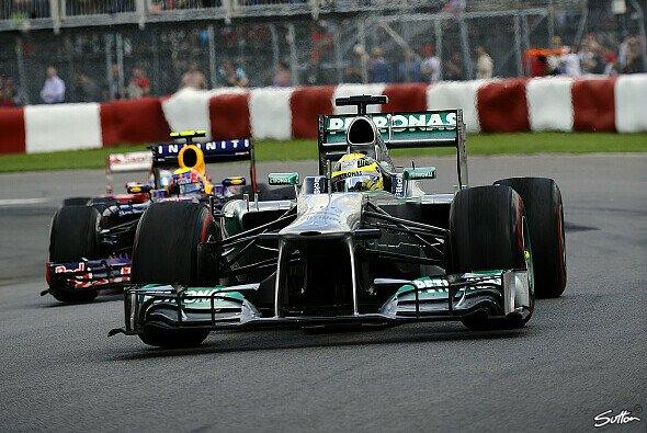 Nico Rosberg erklärt den Circuit Gilles-Villeneuve