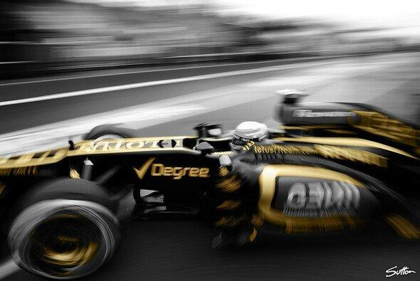 Romain Grosjean einmal in einer etwas anderen Ansicht - Foto: Sutton