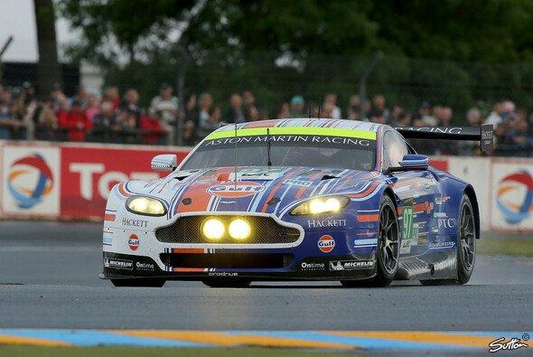 Der Aston Martin von Stefan Mücke hatte lange Siegchancen