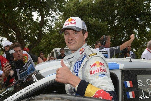 Sebastien Ogier hat es geschafft: Weltmeister 2013 - Foto: Sutton