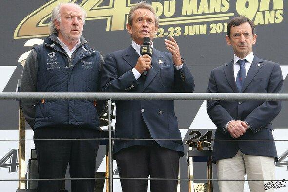 Jacky Ickx und Dave Richards gedachten in Le Mans Allan Simonsen