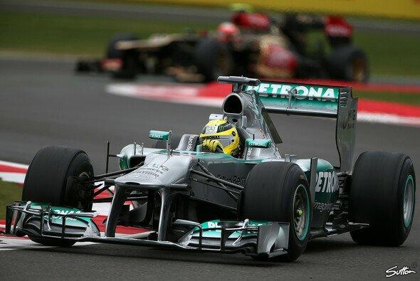 Nico Rosberg holte sich erneut die Bestzeit - Foto: Sutton