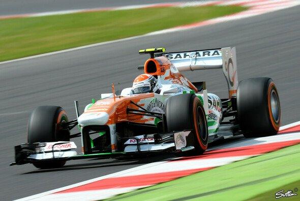 Die Reifentests in Silverstone werden die Stammfahrer von Force India übernehmen - Foto: Sutton
