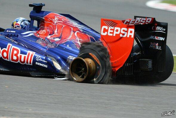In Silverstone gab es den großen Reifen-Knall