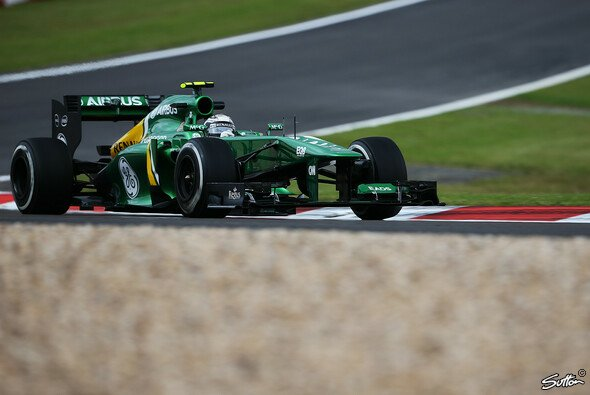 Caterham blickt optimistisch auf das Qualifying - Foto: Sutton