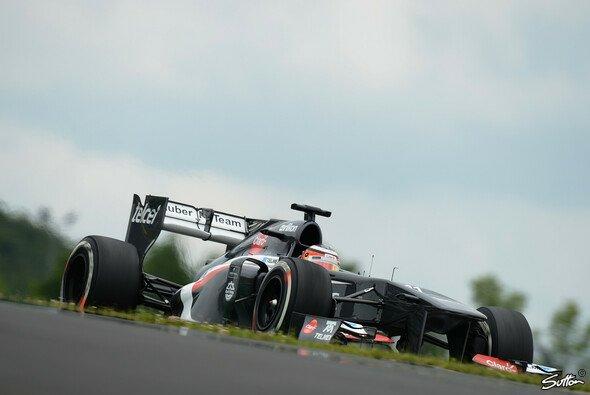 Nico Hülkenberg war am Freitag zwei Sekunden hinter der Spitze zurück