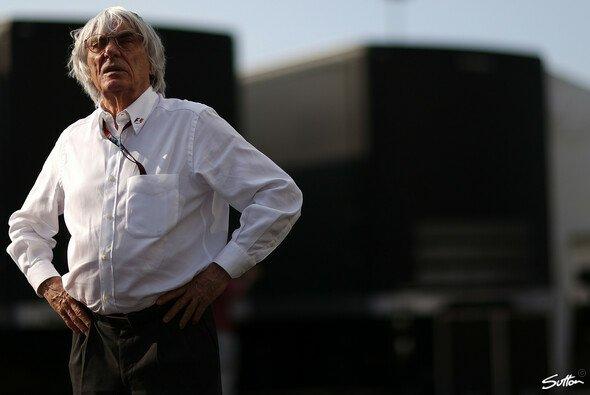 Bernie Ecclestone sorgt mit seinen Aussagen immer wieder für Kopfschütteln