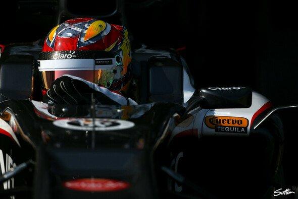 Zuletzt durfte Frijns bei den Young Driver Tests in Silverstone einen Formel-1-Boliden fahren - Foto: Sutton