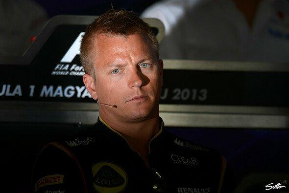 I know what I'm doing - hoffentlich weiß Räikkönen das wirklich - Foto: Sutton