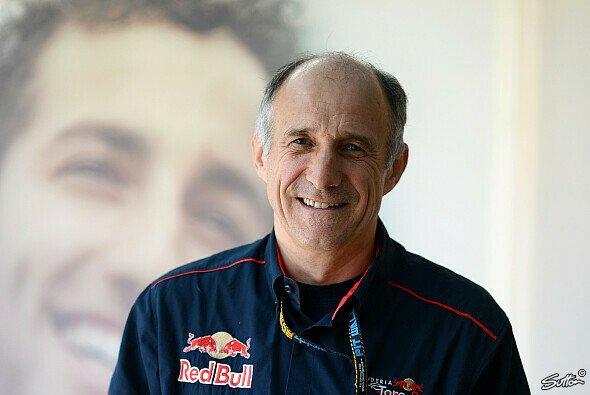 Franz Tost bildet den Red-Bull-Nachwuchs aus