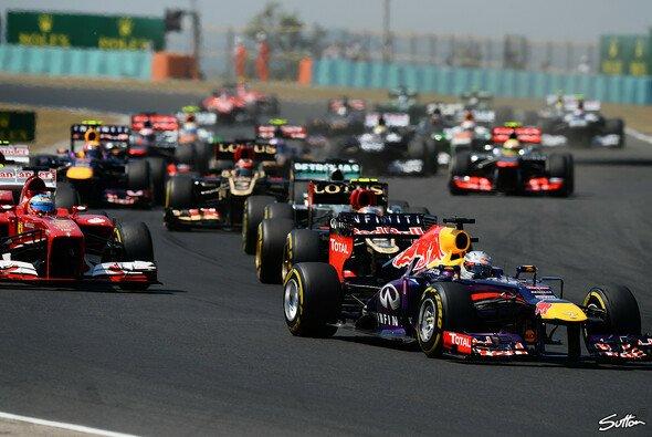 Sebastian Vettel ist der große Gejagte