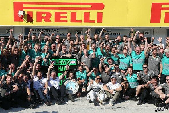 Mercedes durfte sich über den dritten Saisonerfolg freuen