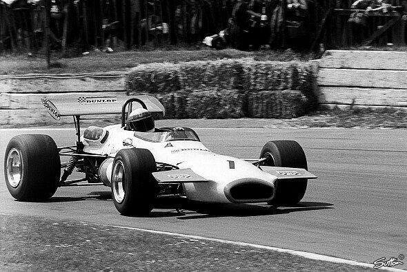 Jackie Stewart im Coombs Jaguar 1970 in der Formel 2. - Foto: Sutton
