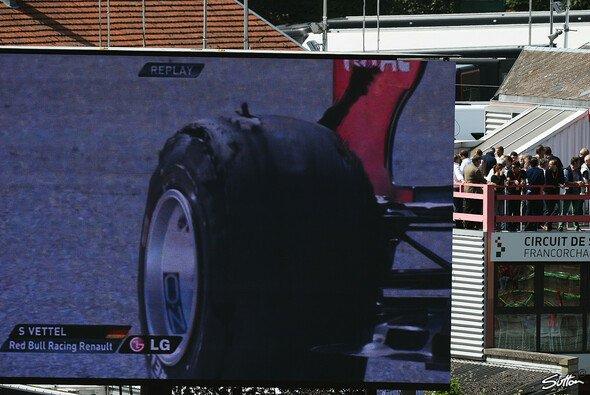 Die Ursache für Vettels Reifenschaden ist geklärt - Foto: Sutton
