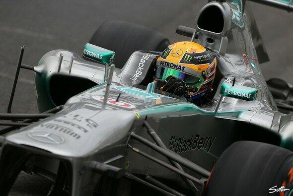 Lewis Hamilton startet von Pole Position - Foto: Sutton