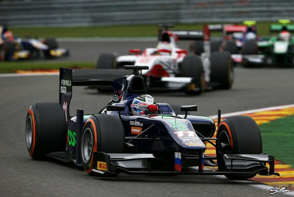 Sam Bird gewann mit Russian Time die Vize-Meisterschaft in der GP2 - Foto: Sutton