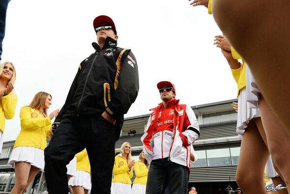 Kimi Räikkönen wird nicht nach Fernando Alonsos Pfeife tanzen - da ist sich Jenson Button sicher