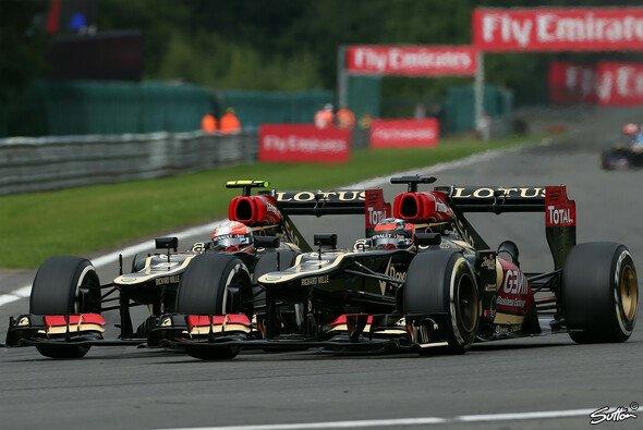 Romain Grosjean blühte in den vergangenen Rennen immer mehr auf - Foto: Sutton