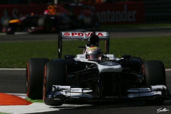 Pastor Maldonado holte in Ungarn bislang den einzigen Punkt für Williams. - Foto: Sutton