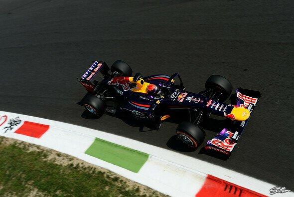 Sebastian Vettel steht zum 40. Mal auf der Pole - Foto: Sutton