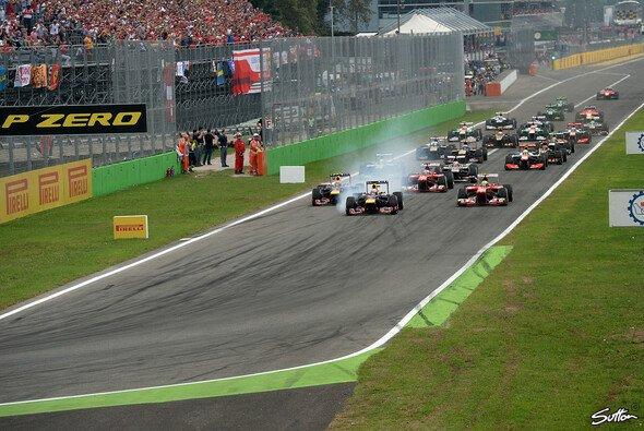 Die Formel 1 ist 2014 zum 64. Mal in Monza zu Gast