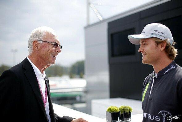 Franz Beckenbauer und Nico Rosberg kommen nach Hockenheim