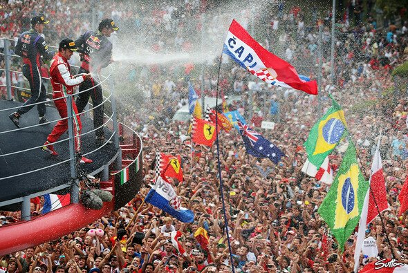 Immer Partystimmung in Monza - Foto: Sutton