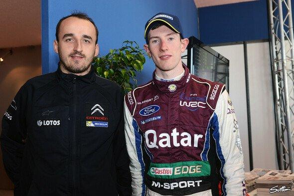 Vielleicht die M-Sport-Paarung 2014? Robert Kubica und Elfyn Evans - Foto: Sutton