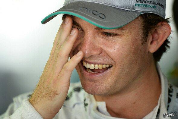 Nico Rosberg erzählt immer wieder Spannendes über 2014 - Foto: Sutton