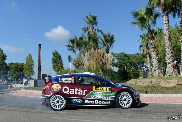 Die Rallye Spanien fand für Al-Attiyah ein unliebsames Ende - Foto: Sutton