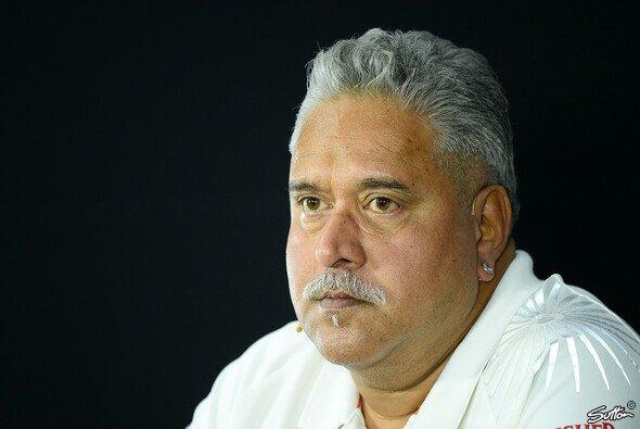Vijay Mallya wünscht Paul di Resta alles Gute für die Zukunft