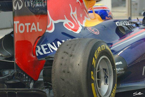 """Der Red Bull kam gut mit den neuen """"alten"""" Reifen zurecht"""