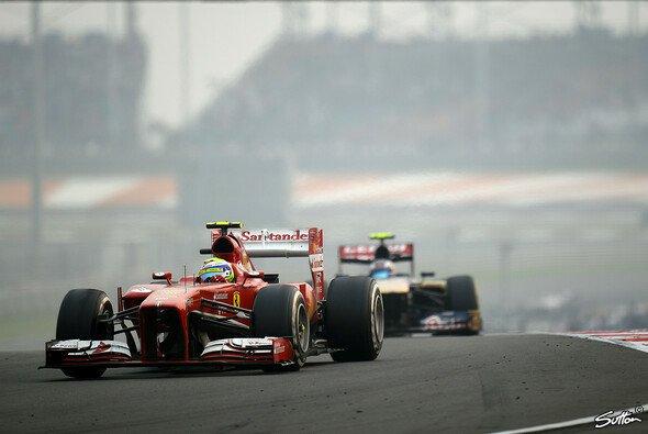 Felipe Massa setzte sich durch und hatte Recht - Foto: Sutton