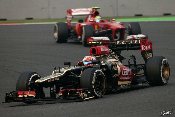 Gelingt es Lotus, Ferrari abzufangen?