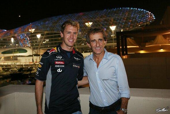 Prost hält Vettel die Daumen - Foto: Sutton