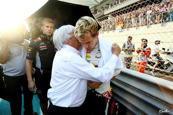 Ecclestone rät Vettel zu einem Ferrari-Wechsel