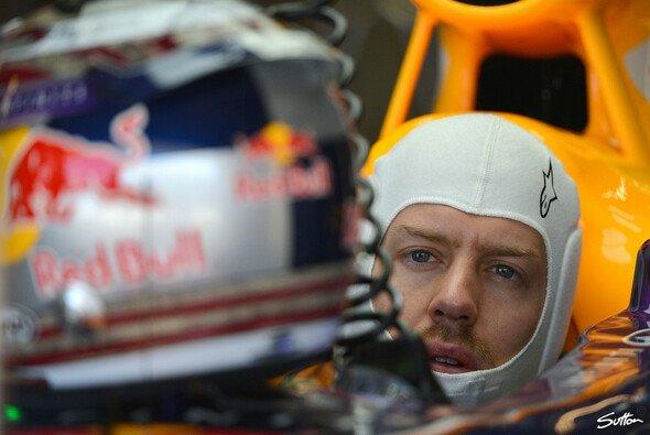Sebastian Vettel trieb es bunt