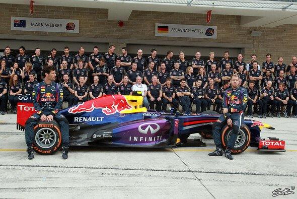 Hinter dem Erfolg von Red Bull steht ein großes Team