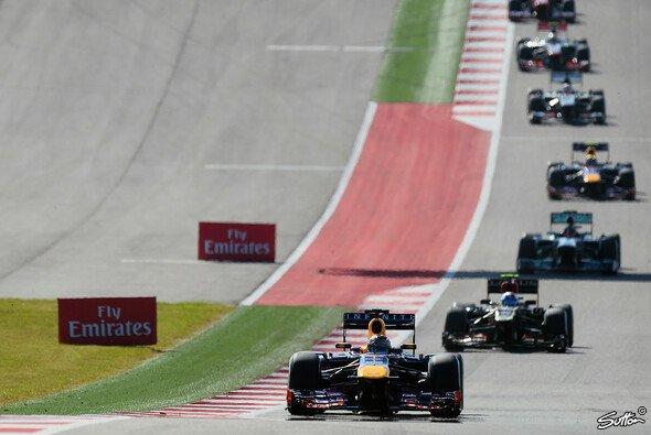 Der US GP glich über weite Strecken einer Prozession