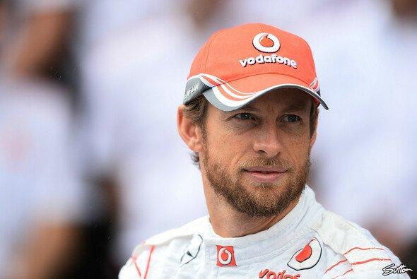 Jenson Button freut sich auf seinen neuen Dienstwagen