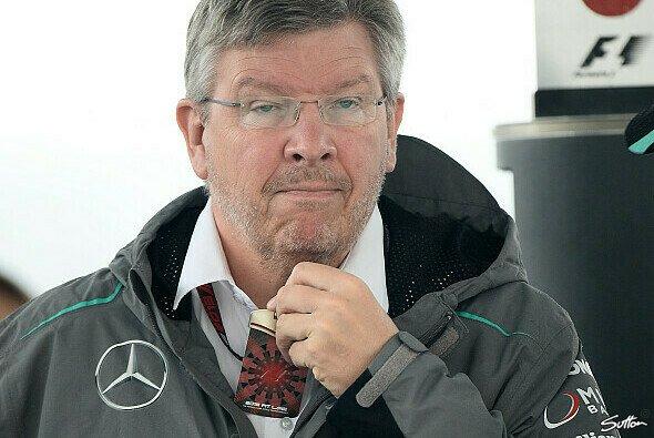 Wird Ross Brawn Mercedes ein schönes Abschiedsgeschenk bereiten? - Foto: Sutton