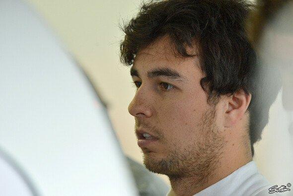 Sergio Perez lässt den Kopf nicht hängen