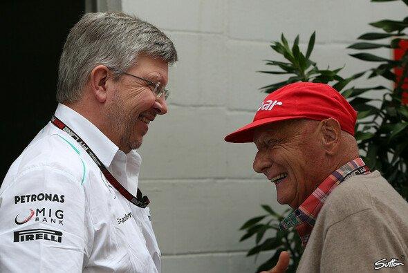 Niki Lauda hätte Ross Brawn gerne noch ein Jahr gehalten