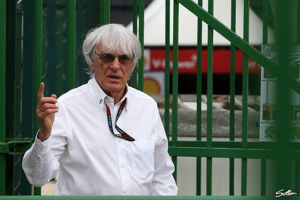Bernie Ecclestone ist mit dem neuen Reglement nicht glücklich