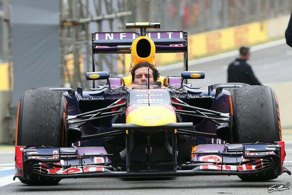 Mark Webber genoss die frische Luft - Foto: Sutton