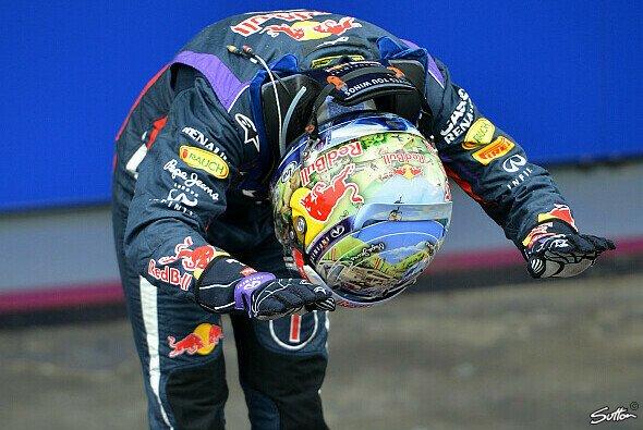 Sebastian Vettel krönte sich 2014 zum jüngsten Vierfach-Champ