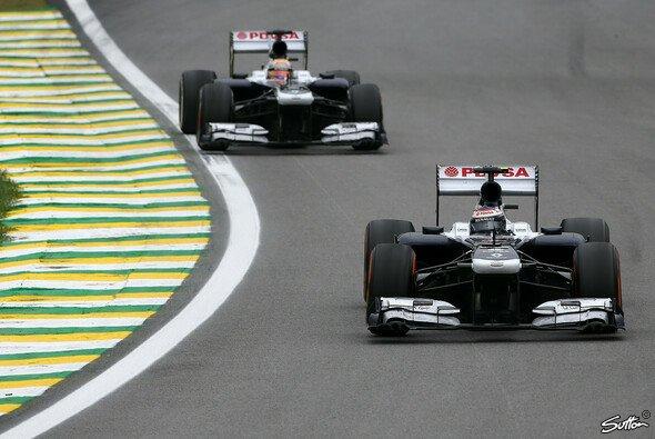 Valtteri Bottas beendete seine Rookie-Saison vor Nummer-1-Fahrer Pastor Maldonado. - Foto: Sutton