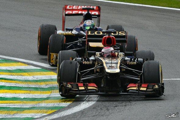 Im schnellen Lotus blieb Kovalainen ohne Punkte