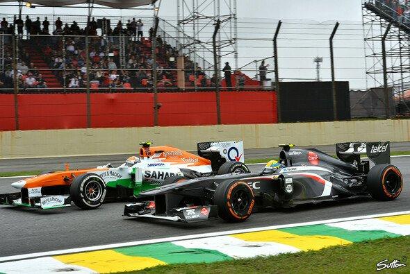 Nico Hülkenberg und Adrian Sutil könnten die Cockpits tauschen