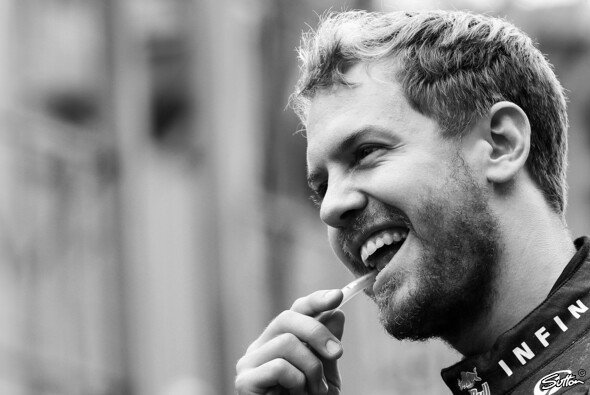 Sebastian Vettel liebt das Gefühl, über die Ziellinie zu fahren und zu wissen, sein Bestes gegeben zu haben